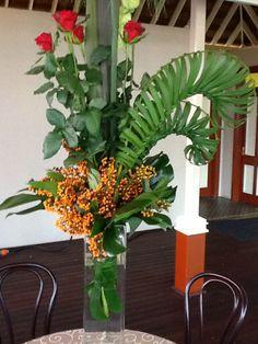 Corporate Flower Arrangement by WED on Beaufort