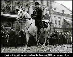 Horthy Miklós (522×411) Wide World, Budapest Hungary, Historical Photos, Ww2, Army, Horses, Culture, Military, Animals