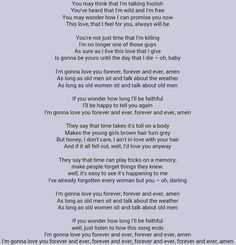 I really really love this song. It's one my daddy used to put on when I was little. And ever since I was a little girl, I've always wanted to have someone who would feel this way about me, and maybe even possibly sing this to me. I've always been a sucker for being serenaded.