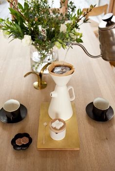 Mjölk coffee pot