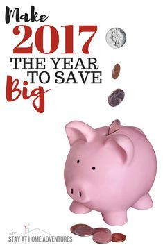 Saving money is not easy as people think. If that was the case debt wouldn't follow us.This is why we are making 2017 the year to save and save BIG!