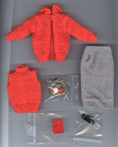 Vintage Barbie Sweater Girl.  The site sells vintage dolls and outfits.