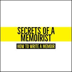 How To Write A Memoir Online | Writers Write
