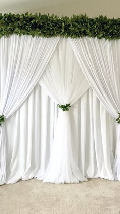 Garden Wedding Backdrop Created this backdrop for a bride that wanted a simple backdrop for her gard Outdoor Wedding Backdrops, Wedding Backdrop Design, Wedding Reception Backdrop, Wedding Stage Decorations, Diy Backdrop, Backdrop Decorations, Backdrop Stand, Diy Party Decorations, Wedding Background