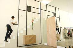 Sherylleysner | Interior Architecture & Project Management | Retail | Nen Xavier | Concrete floor | Steel frame |