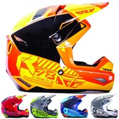 Fly Racing Kinetic Elite Onset Mens Off Road Dirt Bike Motocross Helmets