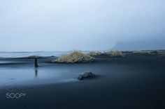 stokksnes impression - bad weather on the beach of stokksnes in the south of iceland near hofn Iceland, Weather, Beach, Outdoor, Ice Land, Outdoors, Seaside, Outdoor Life, Garden