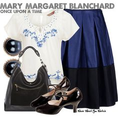 Inspired by Ginnifer Goodwin as Mary Margaret Blanchard on Once Upon a Time.