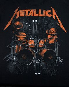 Battery T-shirt Metallica Cover, Metallica Art, Hard Rock, Music Metal, Iron Maiden Posters, Rock Band Posters, Digital Foto, Beautiful Dark Art, Band Wallpapers
