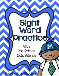 Sight Word Stories/Activities