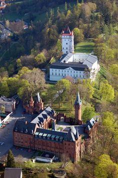 Areál státního zámku vHradci nadMoravicí