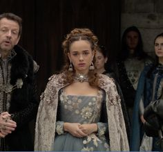 "Claude Valois - Reign ""Bruises That Lie""- Season Episode 10 Reign Fashion, Fashion Tv, Reign Characters, Reign Mary And Francis, Marie Stuart, Reign Tv Show, Reign Dresses, Rose Williams, Princess Aesthetic"
