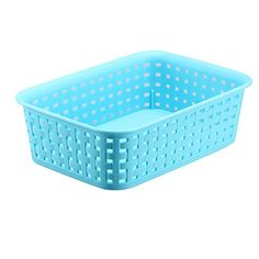 FaSoLa Plastic Storage Basket (Blue, S) FaSoLa Http://www.
