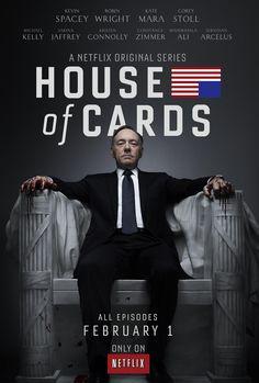 House of Cards - DR (Série) 2013-2015  (Série Renovada) GÊNERO Drama STATUS Série Renovada ESTREIA EUA - 01/02/2013 1ª Temporada (13 Episódios) – Assisti Todos 06/2015 na Netflix 2ª Temporada (12 Episódios) - Assisti - Episódio 12 na Netflix 3ª Temporada (12 Episódios) - Assisti 0 na Netflix