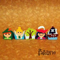Forminhas Festa Peter Pan/Sininho. www.papelarie.com.br