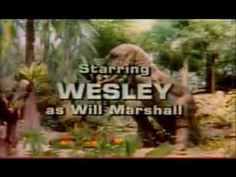 LAND OF THE LOST INTRO ~ I thought this was cool as hell. But now looking at it....CORNEY !