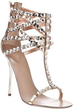 giuseppe zanotti Diamante Sandal..am. I too old and have too many back surgeries for these?
