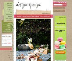 designsponge featured picnic wedding