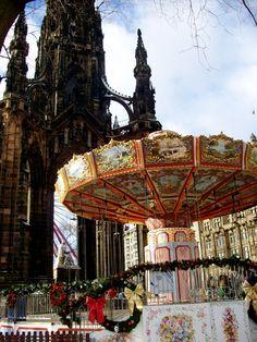 Merry-Go-Round or Carousal in Scotland