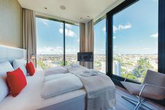 Panoramic views of Berlin City at Riu Plaza Berlin - Urban Hotel - Hotel in Berlin, Germany