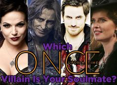 My soulmate villian is Hook who is yours?Find out in Which Once Upon A Time villian is your soulmate.