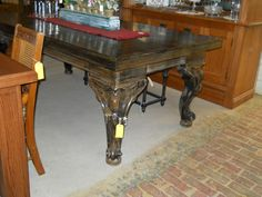 old piano legs new table top Great new table with beautiful legs