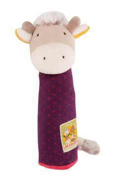 Cow Squeaker from the Les Cousins line! #656007 #magicforesttoys #moulinroty