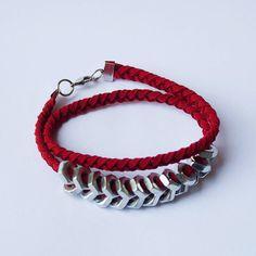 beautiful wrap hex nut bracelet