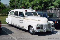 1947  Cadillac  Ambulans