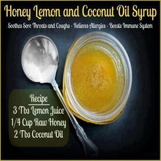 Natural healing sore throat and coughs