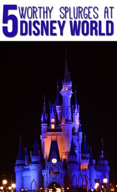 5 Things Worth The Splurge at Disney World - A Cowboys Life