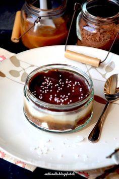 mellimille: Karamell-Schokoladen-Cheesecake im Glas.... Achtung:Suchtpotential!