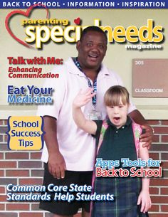 Our latest article in Parenting Special Needs Magazine September/October 2013!!