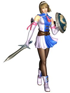 Cassandra (4) - Origin: Soul Calibur 2