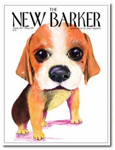 Savannah the Beagle by Sonja Quillen #beagle #magazine #magazinecover #cover