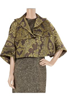 Vivienne Westwood Anglomania Floral jacquard bolero cape - 65% Off Now at THE OUTNET