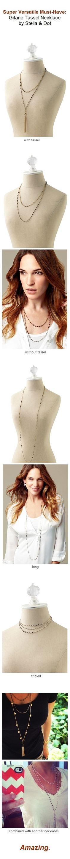 The Gitane Tassel Necklace  www.stelladot.com/angelynhorrell