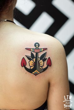 Anchor tattoo...                                                                                                                                                      More