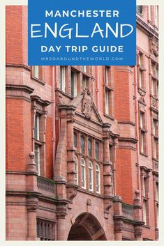 How to spend a day in Manchester, England. Make the most of a luxe day trip in this UK hidden gem by exploring the food scene, doing some local shopping and taking in the stunning skyline. The ultimate travel guide to things to do, top restaurants, and best luxury hotels for an overnight layover. Luxury travel in the UK. | Mrs O Around the World #Travel #TravelTips #TravelGuide #Wanderlust #BucketList #LuxuryTravel #Manchester #England #UK Places Around The World, Travel Around The World, Around The Worlds, Luxury Hotels, Luxury Travel, Best Places To Eat, Places To Visit, Travel Ideas, Travel Guide