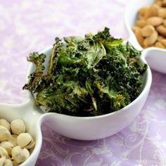Masala Kale Chips -Spicy and Vegan Snack.