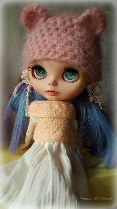 Abygail. Doll ooak Blythe custom collection. by PommedAmourDolls