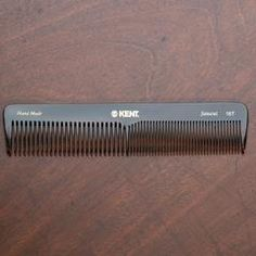 Kent Comb, Large Size Dressing Table Comb, Coarse-Fine 185mm - 7.3in