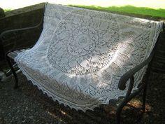 Knit Shawl/Veil (Based on LOTR)