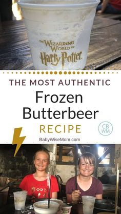 Look no further for the perfect copycat frozen butterbeer recipe! This is the most authentic frozen butterbeer recipe you will find outside the Wizarding World of Harry Potter. This delicious mixture involving cream soda will leave your taste buds happy. Butterbeer Recipe Universal, Copycat Recipes, Frozen Butterbeer, Healthy Dessert Recipes, Fun Desserts, Harry Potter Food, Marshmallow Creme, Yummy Drinks, Gourmet