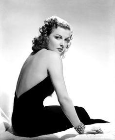 "sparklejamesysparkle: "" Ann Sheridan by George Hurrell, 1939. """