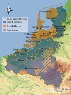 1604: The Fall of Ostend. Despite Maurice's victory at Nieuwpoort, he is forced to withdraw from coastal Belgium: the Dutch are too exposed attempting to campaign in this region. The Spanish then put Ostend under siege. Although the Dutch lose 30,000 men, their compatriots are able to keep them supplied by sea, and the siege lasts for 3 years and 71 days, one of the longest sieges in history. The Spanish lose 60,000 men, but they eventually take the town. From MHM 52.