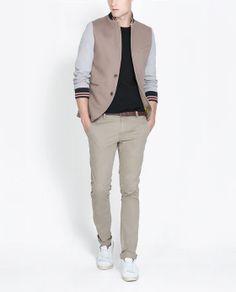 ZARA - Man - College Blazer