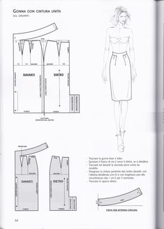 Patternmaking by Pennie Annie - issuu Skirt Patterns Sewing, Clothing Patterns, Diy Rock, Pola Rok, Bodice Pattern, Make Your Own Clothes, Pattern Cutting, Pattern Drafting, Love Sewing