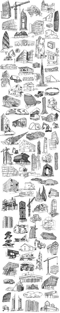 XXI Architecture Poster commisioned by Fundacja Bęc Pomiar - XXI Architecture . XXI Architecture Poster commisioned by Fundacja Bęc Pomiar – XXI Architecture … – XXI Archi Architecture Concept Drawings, Architecture Sketchbook, Architecture Portfolio, Art And Architecture, Classical Architecture, Building Sketch, Urban Sketching, Sketch Design, Illustrations