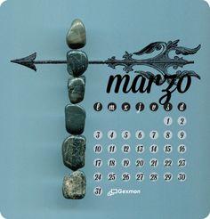 March / Calendar 2013-14 / www.josellopis.com